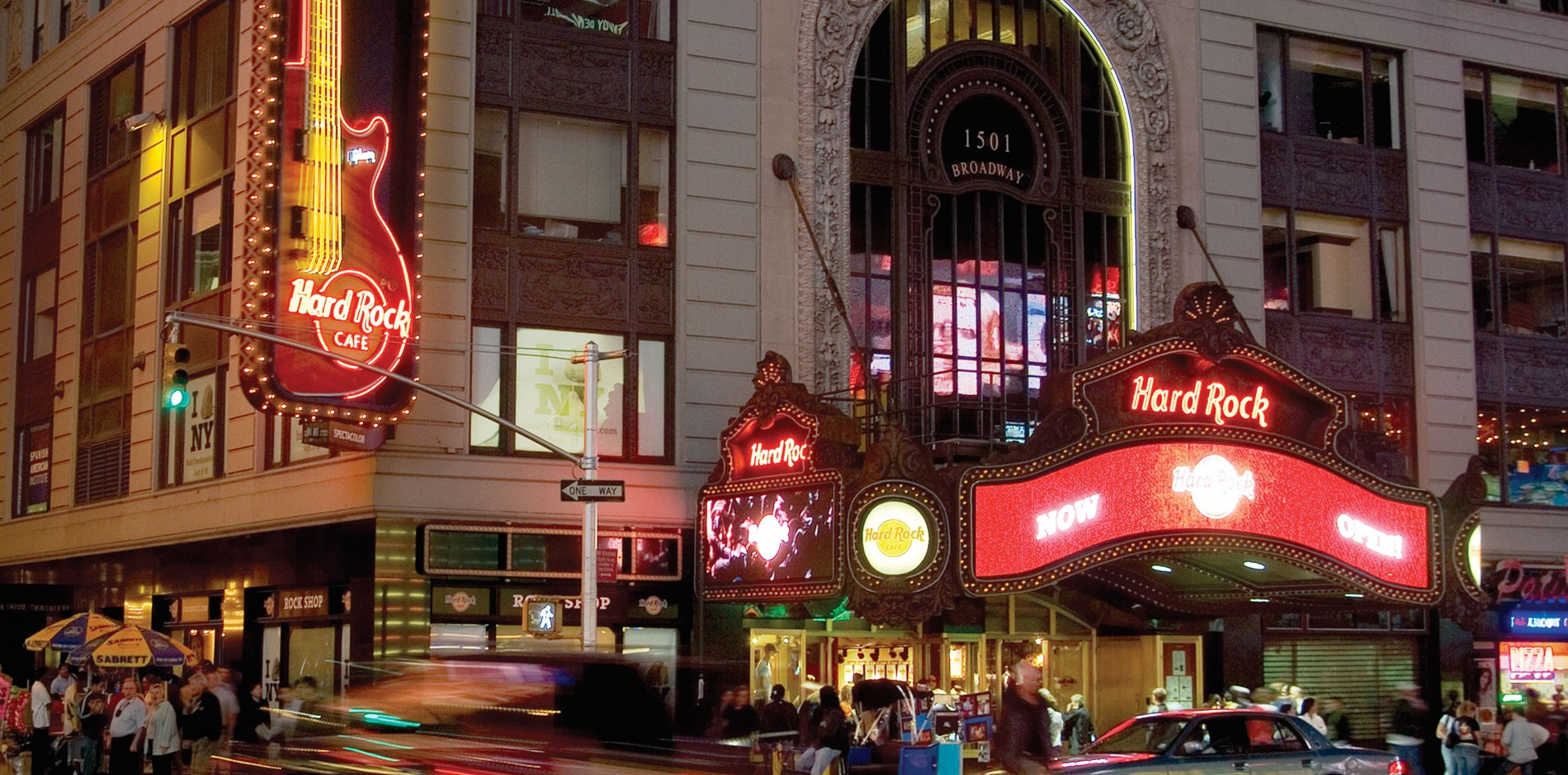Hard Rock Cafe Construction New York City Fit Out