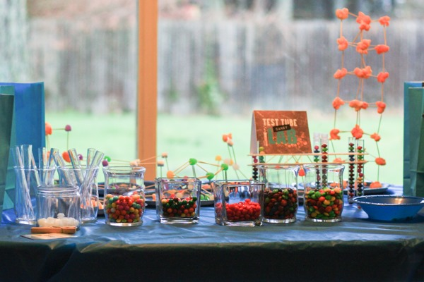 Tennyson's Science Birthday Party