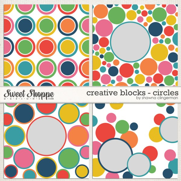 Creative Blocks Circles by Shawna Clingerman
