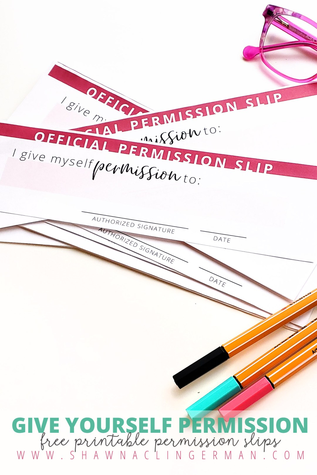 Download Your Free Printable Permission Slips Today