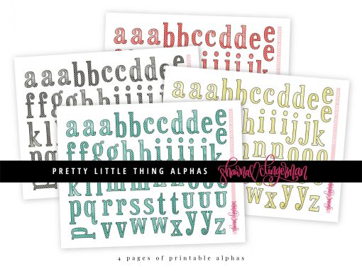Pretty Little Thing Alphas by Shawna Clingerman