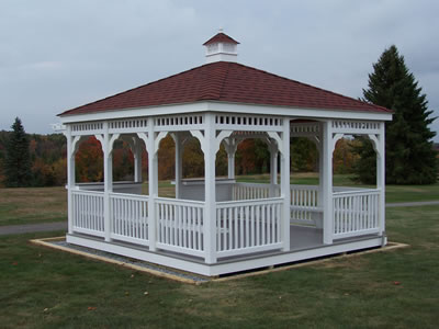 Vinyl Gazebos Pennsylvania And West Virginia