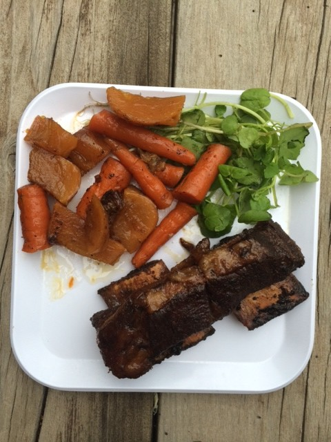 Honey Lime Crockpot Short Ribs