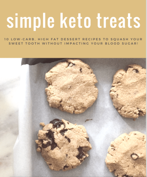Download your FREE Simple Keto Treats E-Book Here!
