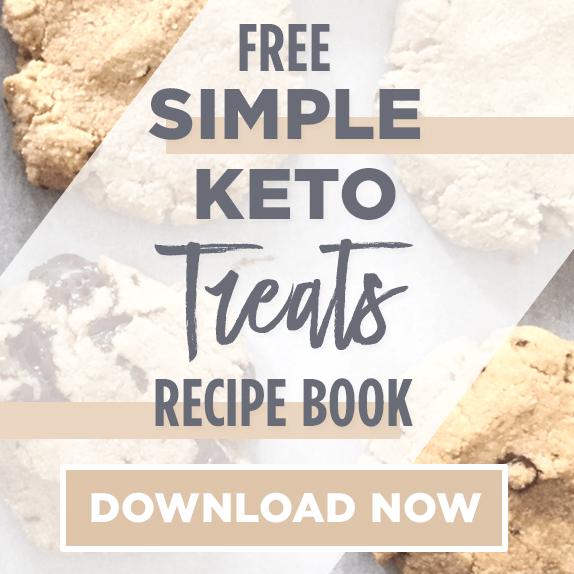 Simple Keto Treats Recipe eBook