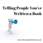 Telling People You've Written a Book