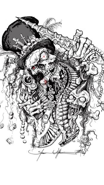 voodoo guns and knives