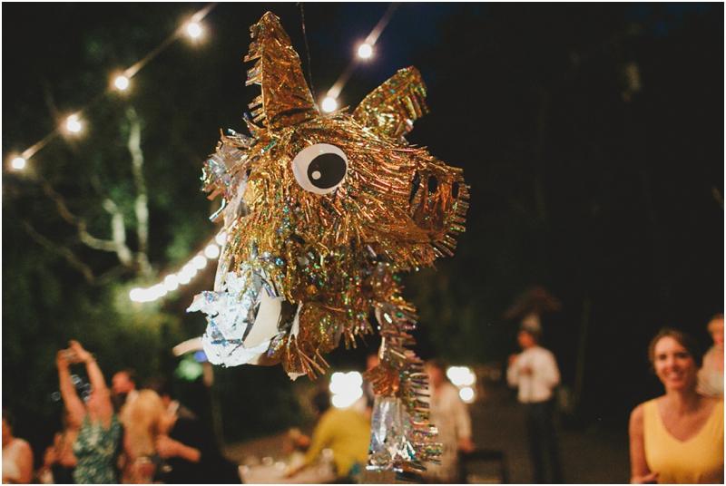 piñata at a wedding