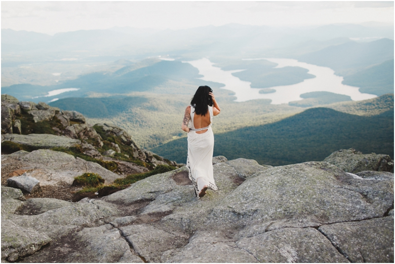 Brittany Amp Ryan An Intimate Mountaintop Wedding In Lake
