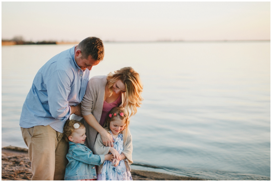waterfront family photos