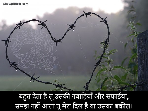 2 line dil status hindi image