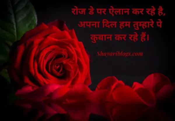 7 feb rose day shayari image