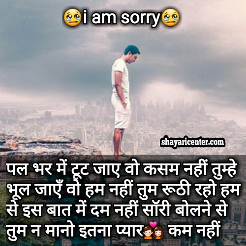 boy sorry status in hindi