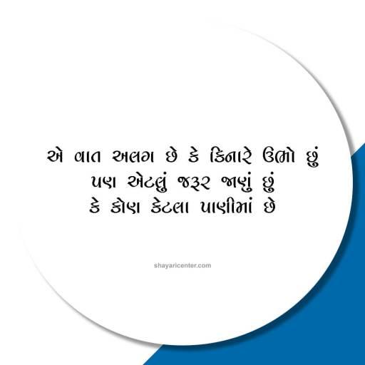 gujarati shayari on life