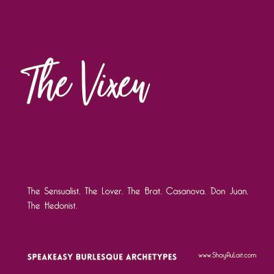 the vixen burlesque archetype - shayaulait.com