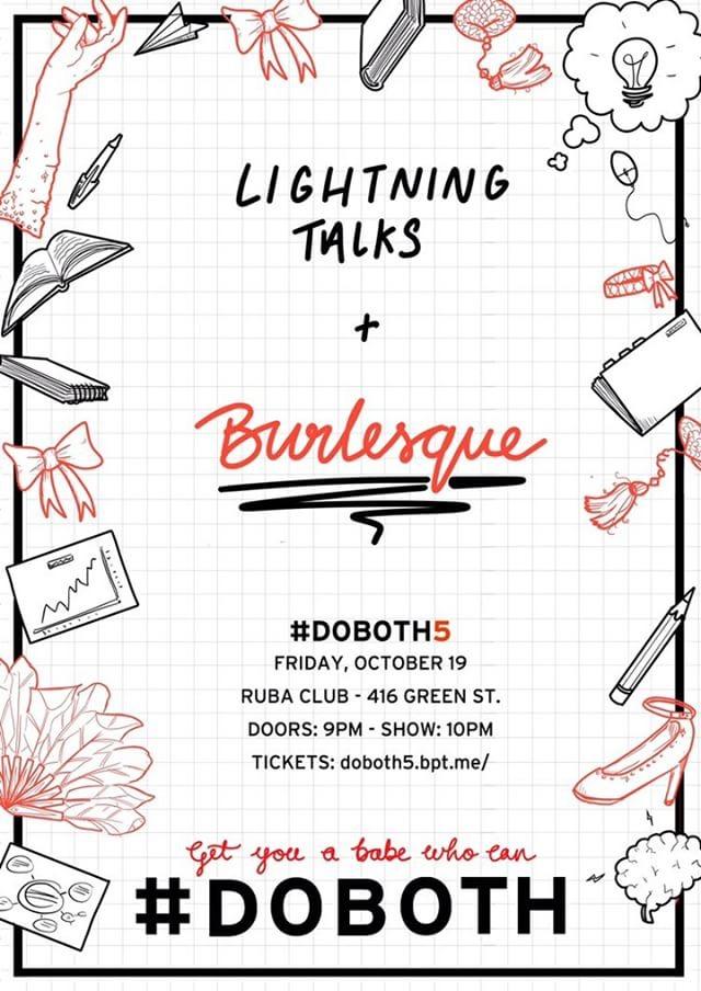 Lightning Talks and Burlesque - shayaulait.com