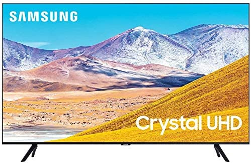 Samsung UN43TU8000 43″ Crystal 8 Series 4K Ultra High Definition Smart TV with Additional 1 Year Coverage by Epic Protect (2020)
