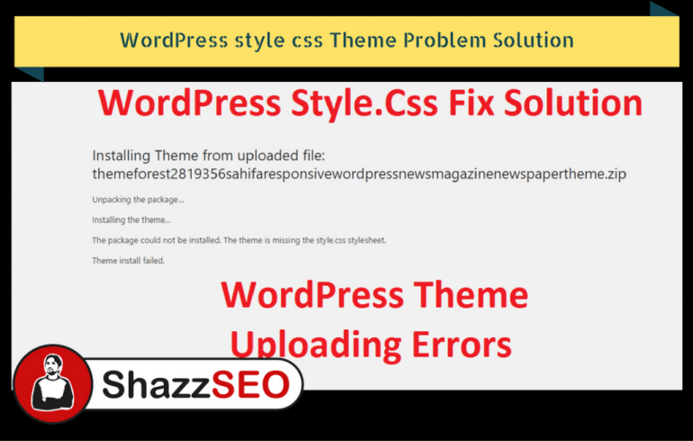 wordpress-style-css-theme-problem-solution