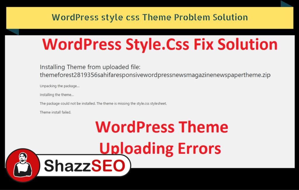 wordpress-style-css-theme-problem-solution