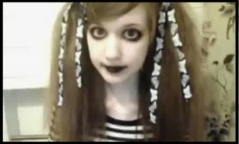 Creepy Girl website