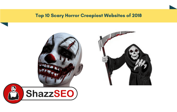 Top 10 Scary Horror Creepiest Websites of 2018