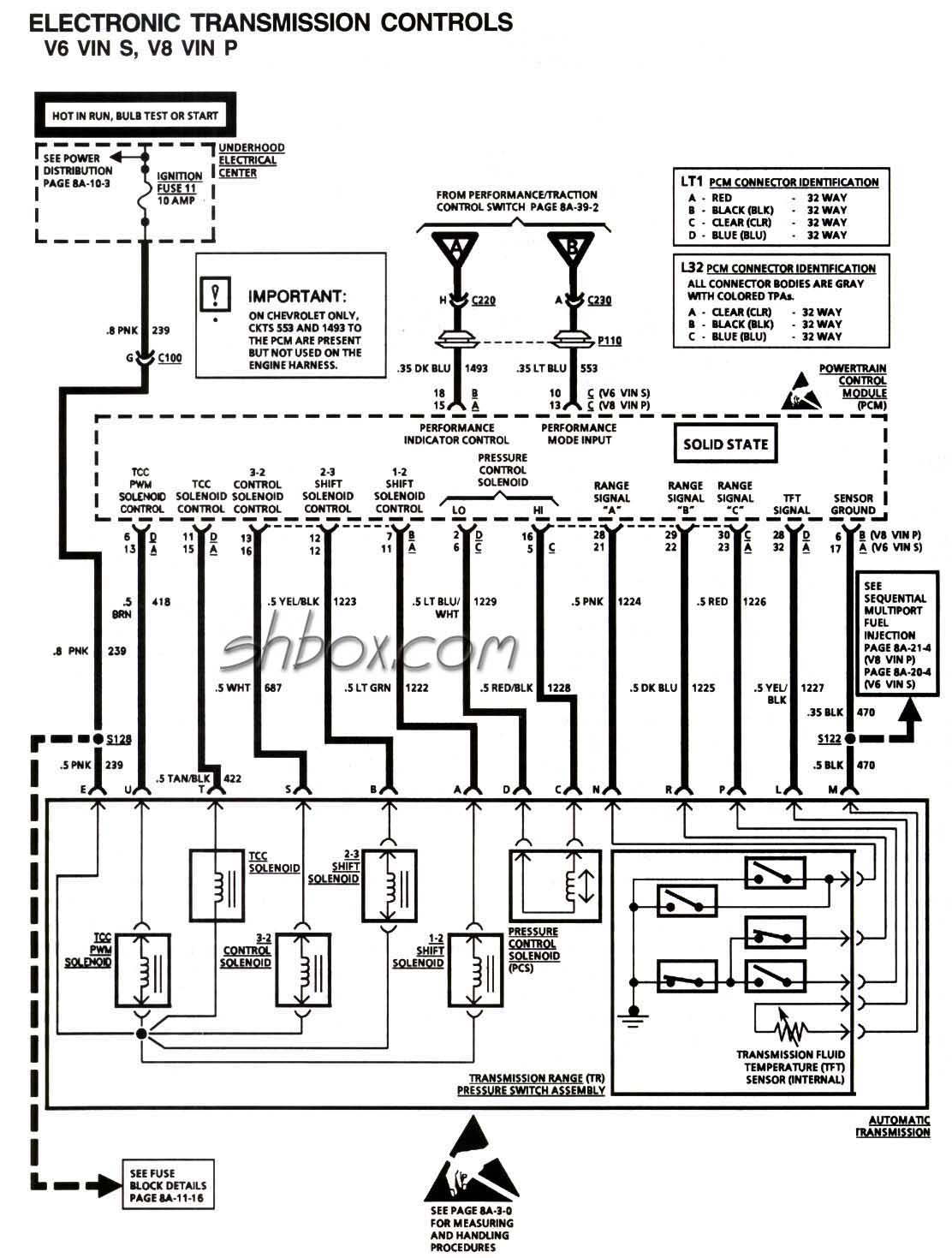 4l80e Wiring Diagram
