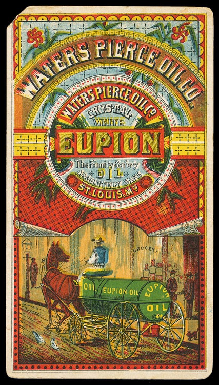 Waters Pierce Oil Company Eupion Oil Sheaff Ephemera