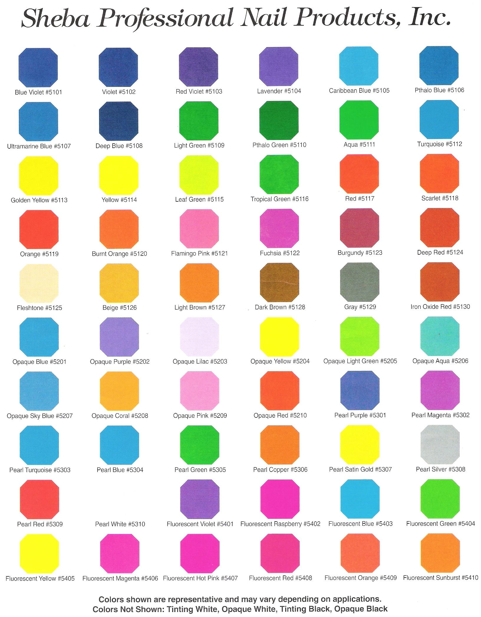 Airbrush Paint Colour
