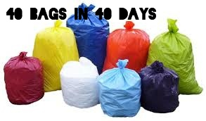 Spring Cleaning Is In The Air!  40 bags in 40 days Decluttering CHALLENGE