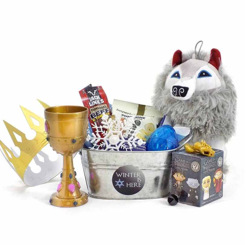 Game of Thrones Themed TV Show Candy Toy Gift Basket