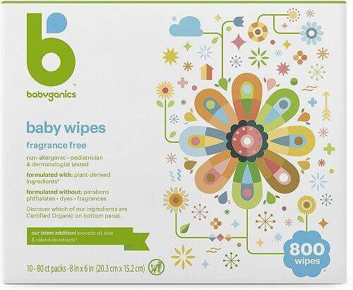 Hydrating and Nourishing Baby Wipes