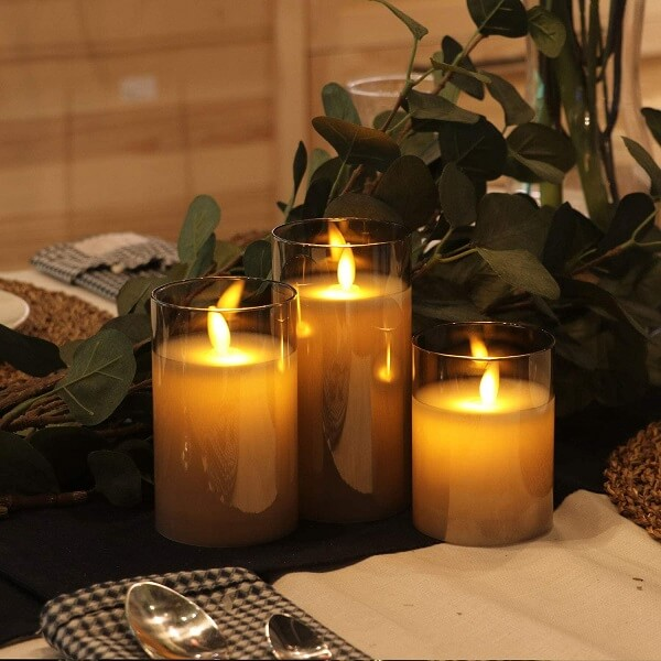 Battery Operated Led Candles with Timer