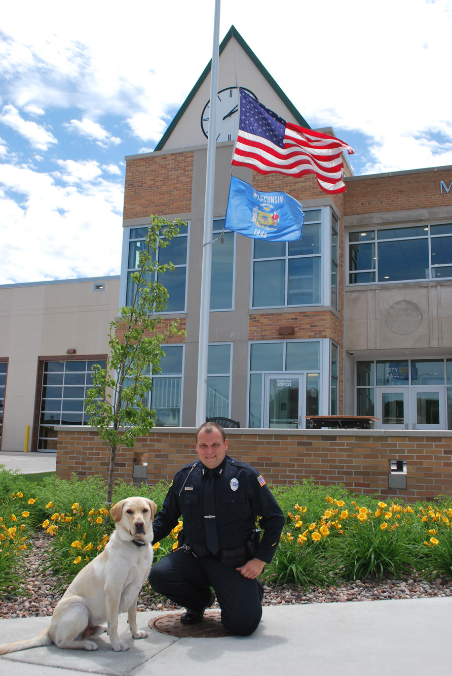 sheboygan falls city k9 unit