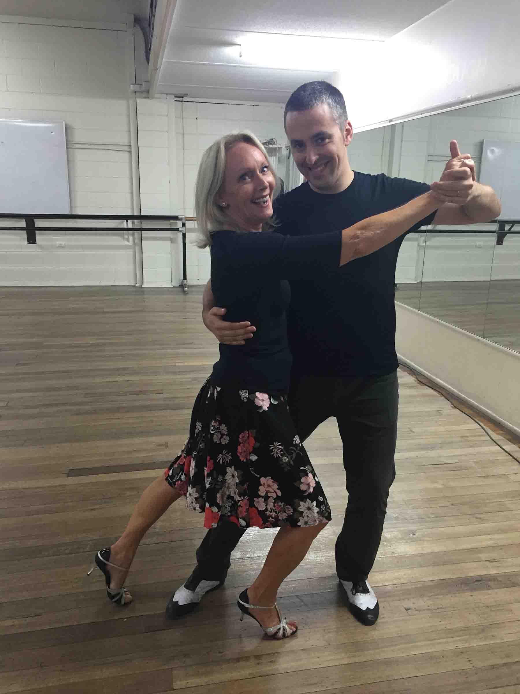 Ruth with instructor & Jose World Tango Champions (3) – Copy