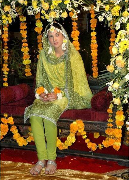 Fiza Ali In Wedding Drees