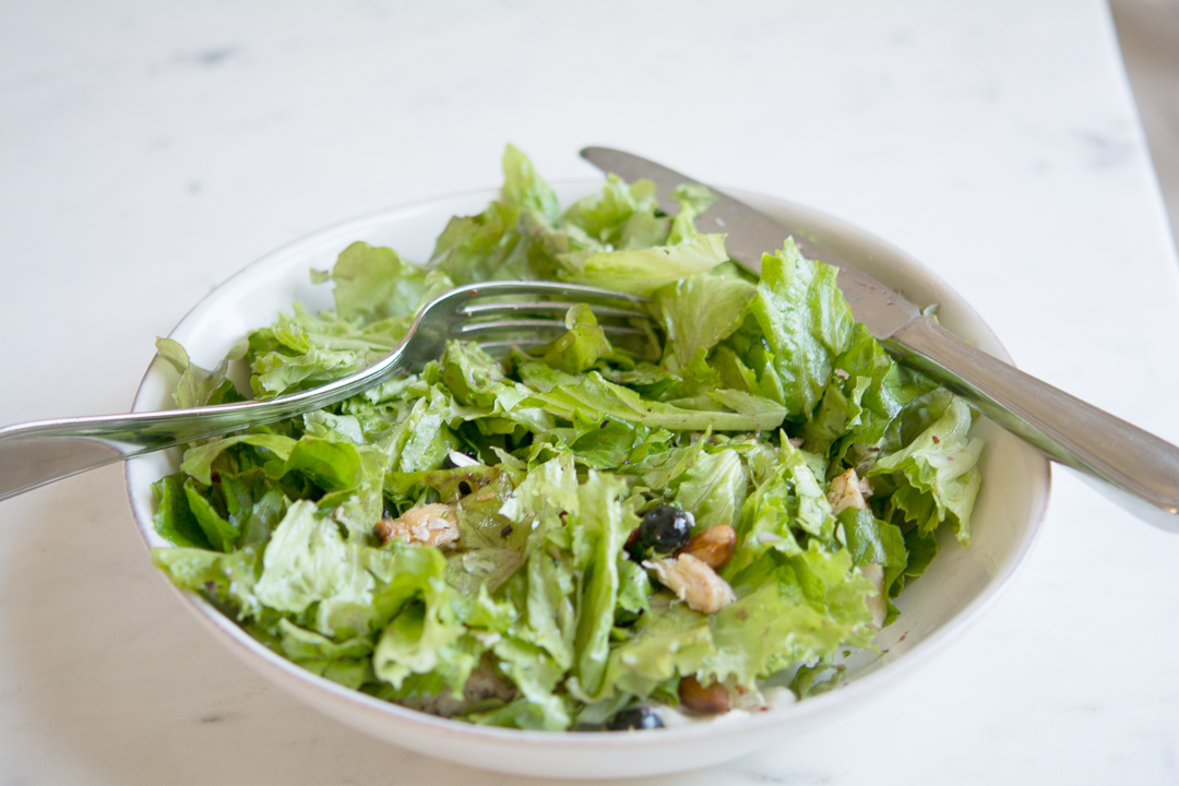 Blueberry Salad Girl