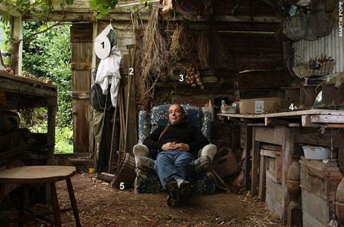 Bob Flowerdew And His Shed Shedblog Co Uk