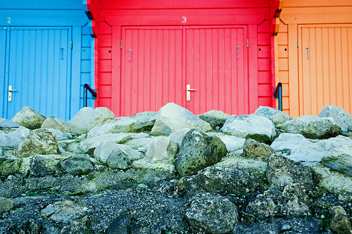 Just Sheds : Yorkshire Beach huts & other colourfull sheds by the sea