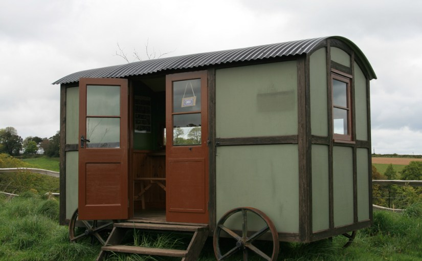 We love a shepherds hut – so why not build your own (from a kit)?