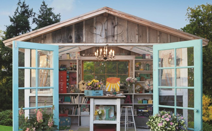 """She sheds"" are popular in the US – so here is a nice book on them"