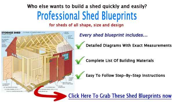 12x16 storage shed building plans