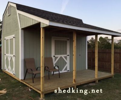 Plans To Build Sheds With Porches