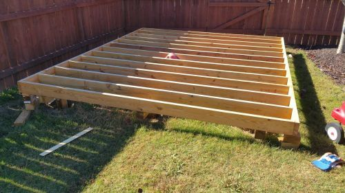 Building Shed Ramp