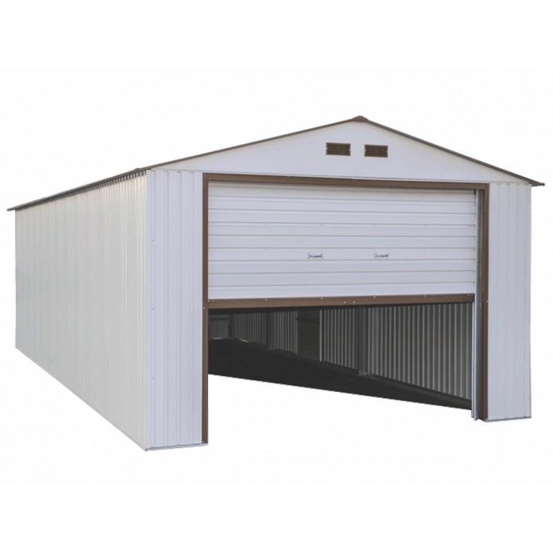 Duramax 12 X20 Imperial Steel Storage Garage Kit White