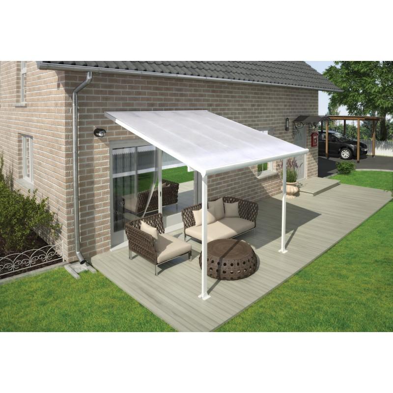 palram 10x10 feria patio cover kit white hg9310