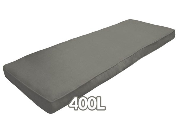The Grey cushion that comes with the 400L Patio Box