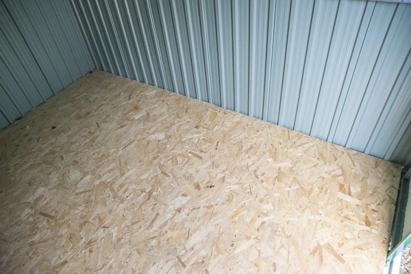 Internal Flooring of 6X9 Shed from Sheds Direct Ireland