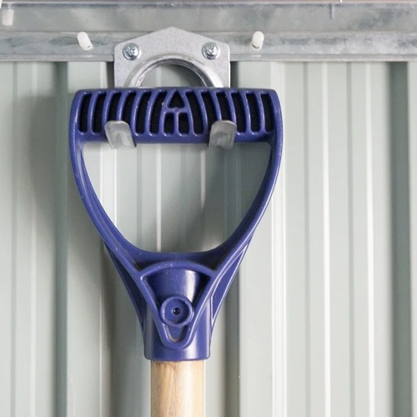 Tool hooks for gardening equipment
