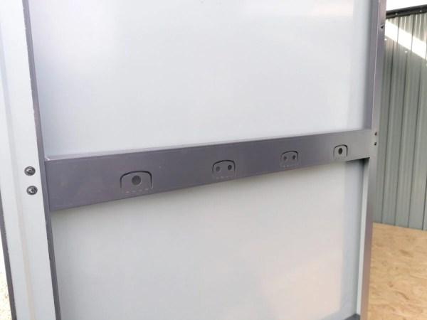The internal view of the door