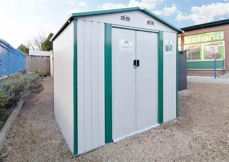 Steel Shed from Sheds Direct Ireland